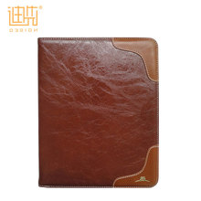 Guangzhou supplier flip stand custom PU leather shockproof tablet case for ipad