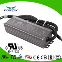 60w 50w waterproof led power supply 1300ma 1500ma