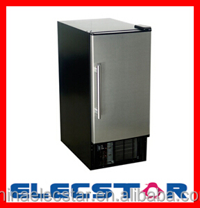 Undercounter Ice Maker and Countertop Ice Maker, Stainless Steel Ice Maker, Commercial Ice Machine