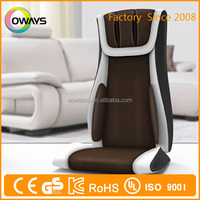 Wholesale low price durable shiatsu massager cushion/vibrating heated chair cushion