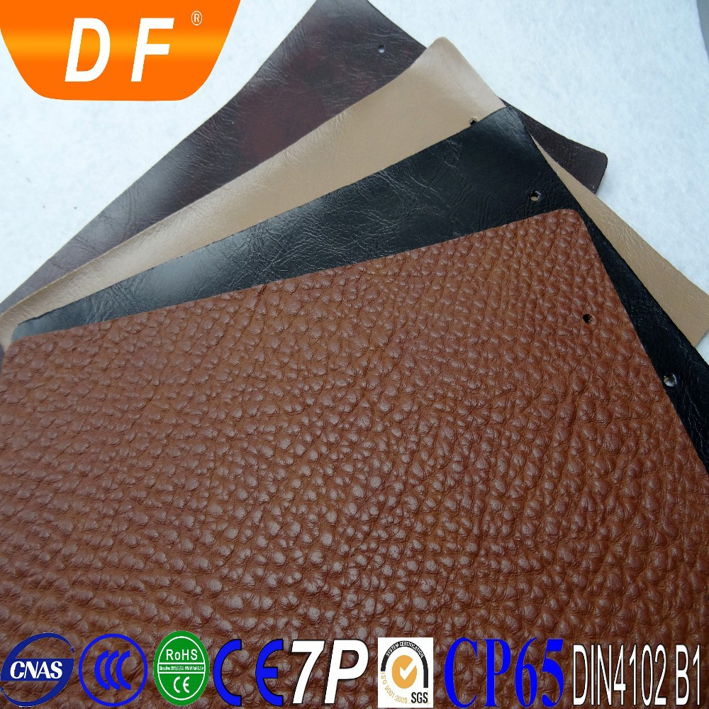 Microfiber leather rexine pvc articial leather upper bag material