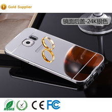 2017 new arrival luxury metal aluminum bumper mirror phone case for samsung galaxy s7 for samsung s7 edge