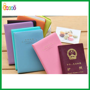 Encai New Style Travel Organizer PVC Passport Cover/Colourful Passport Case/Flower Tickets & Cards Holder