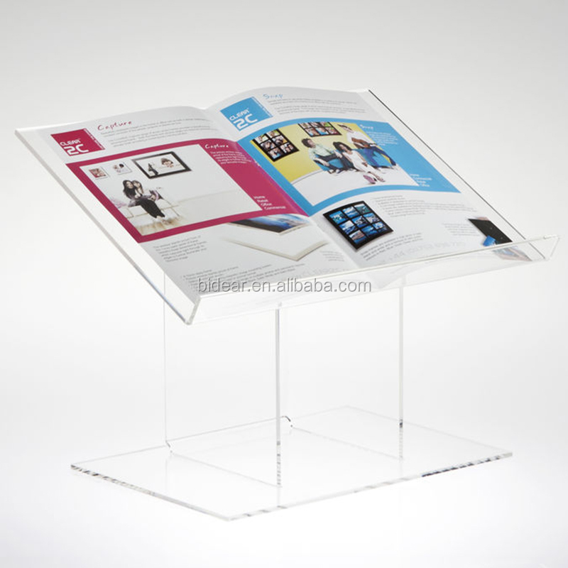 High End Acrylic Clear or Colored Portable Desktop Lectern