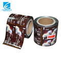 Center sealed plastic tea packing bag in roll
