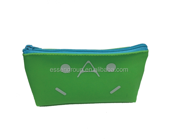 wholesale silicone pencil case cool cheap bag