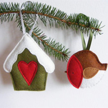Wholesale Eco-friendly colorful multiple Christmas tree decorations
