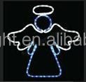 2016 Outdoor light led motif angel christmas light