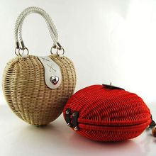 2016 new style ladies french natural paper straw straw bag wholesale plastic straw bag