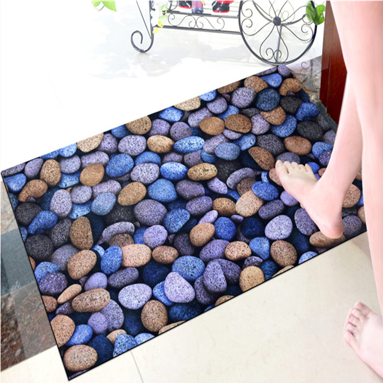 China Factory Low price dedust mat 3D picture printed doormat