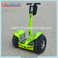 Rechargeable battery powered scooter