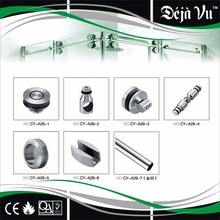 CY-A29 modern style sliding glass door wheel rail track fittings