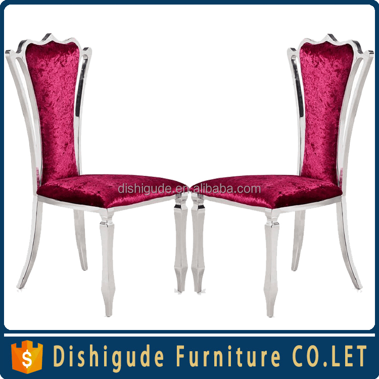 Hotel high back king chair/royal high back chair/stock restaurant chairs