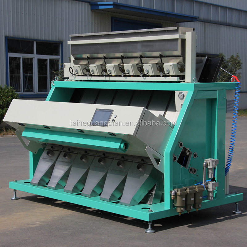 corn grain ccd color sorter /separator machine