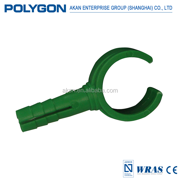 Male and female thread connector Bathroom Polygon White/Grey Ppr Pipe