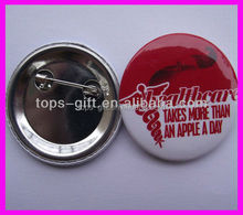 tinplate button badge