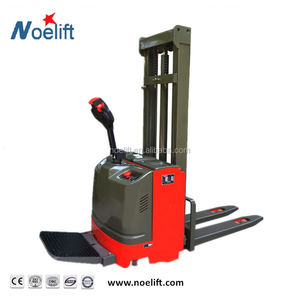 electric straddle forklift pallet stacker, 2ton electric pallet stacker