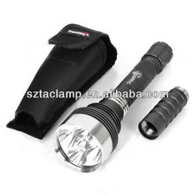 TrustFire TR-J16 5xCREE XML T6 4500LM 5-Mode LED Flashlight with Extension Tube,Holster and Gift Box (2x18650/3x18650)