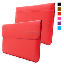 Sleeve for Surface Pro 3 Case - Leather Sleeve with Lifetime Guarantee (Red) for Microsoft Surface Pro 3