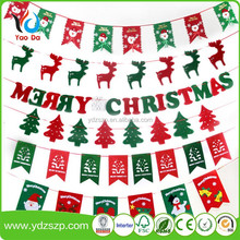 Promotion Festival Decorations Wholesale Letter Banners Christmas Banners Halloween Pennant Banner