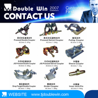 steel scaffold coupler parts