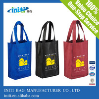 2015 alibaba shopping hand non woven bag supplier malaysia with nylon handle
