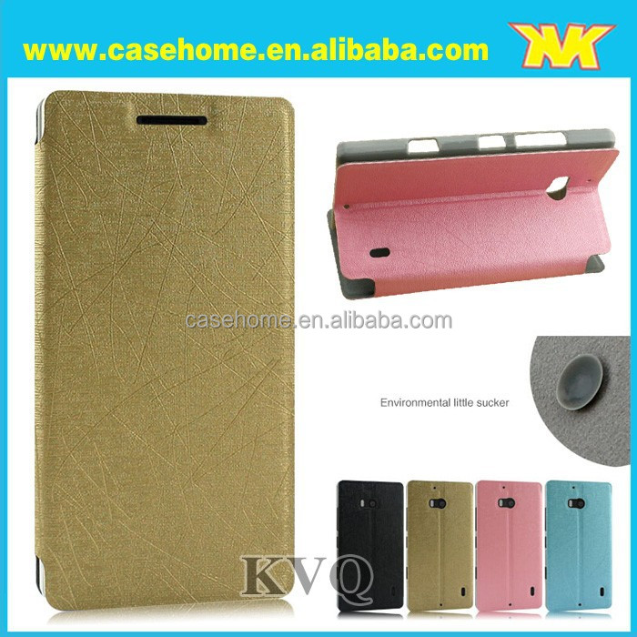 Hot sale and elegant super quality luxury unique design pouch leather case for nokia xl