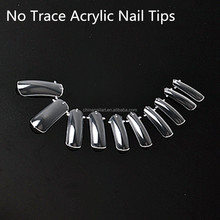 Wholesale 500pcs/bag High Quality French Design Tips Nail Art DIY Artificial Acrylic Mold Tips