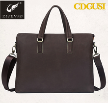 Guangzhou factory 25years OEM/ODM experience top leather message bag for business top line leather bags