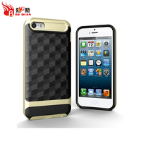Attractive appearance TPU PC mobile phone cases for iphone 5/5S/SE new