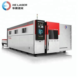3000W High Accuracy China CNC Metal Sheet IPG Fiber Laser Cutting Machine For Iron/Stainless Steel/Aluminum/Copper