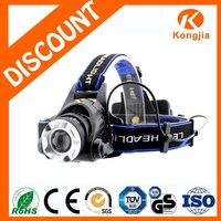 10W XML T6 LED Ultra Bright Aluminium Zoomable Rechargeable Bicycle Light Headlamp Miner Lamp K14.5lm