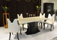 2014 hot sell marble dining tables