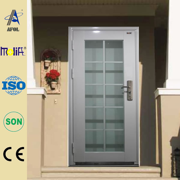 High-quality modern design glass office entry doors