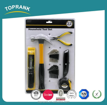 TOPRANK 22 piece home improvment tool set in blister card packing