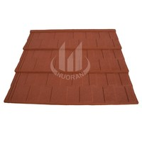 colorful venetian lava stone coated steel metal roofing tile