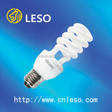 Good quality and factory price cfl bulb 26W 12mm E27 half spiral energy saving lamp