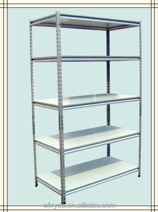 Slotted Angle Rack Dispaly Shelves