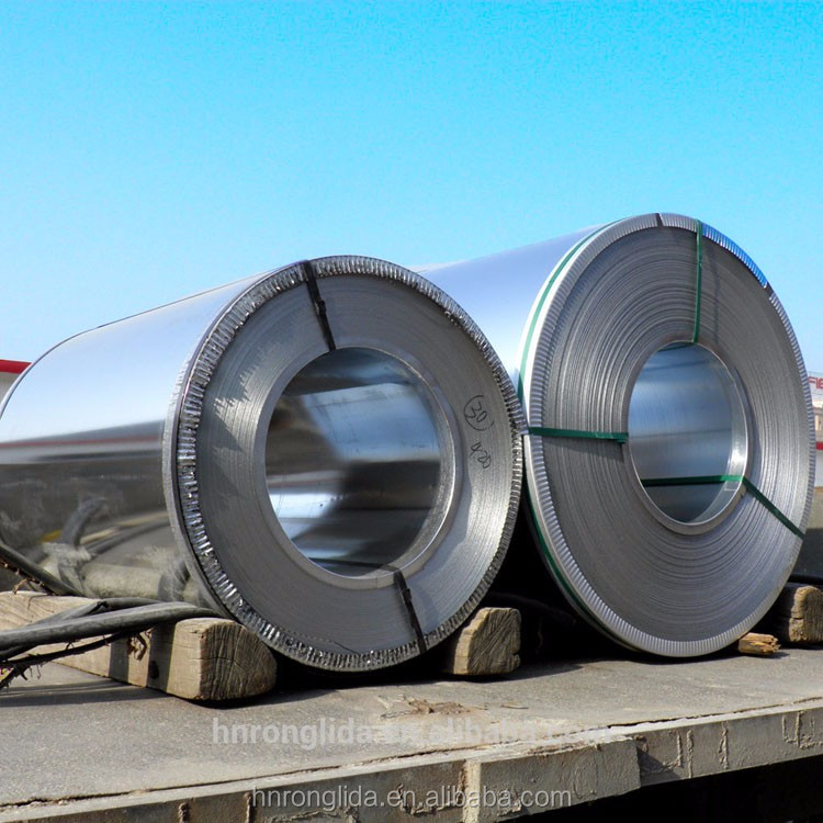 PVC/PET Film Laminated Galvanised Steel Steel Coils/Sheets for Freezer