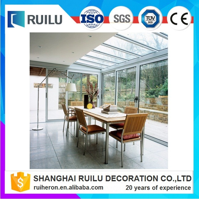 temporary aluminum folding door new design good quality