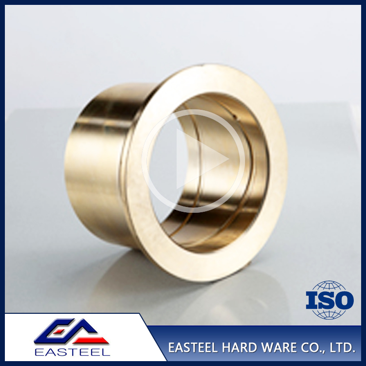China top ten selling OEM cnc machining oil impregnated bronze bushing