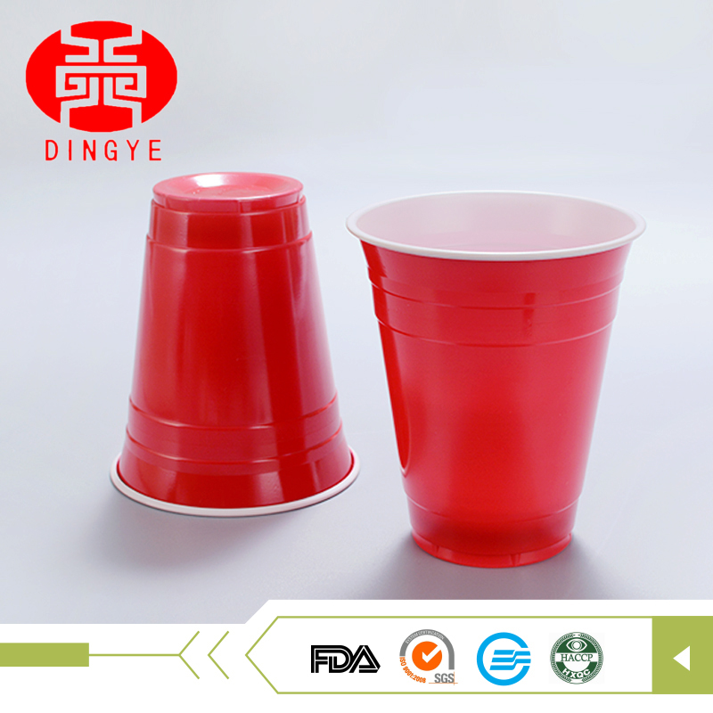 Wholesale disposable plastic unique party red solo cup with good quality