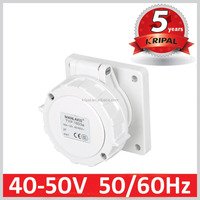 IP67 Low Voltage Industrial Power Socket with 2 Pole