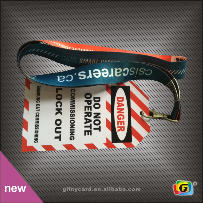 Promotional Cheap Polyester Lanyards with Logo Custom