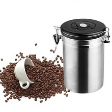 Stainless Steel Sealed Large Coffee bean Canister