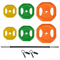 Wholesale Colorful Powerlifting Barbell Fitness Weight