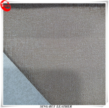 Cheap PVC Leather with Embossed Pattern for Decoration
