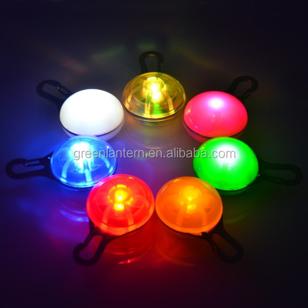 Pet Dog LED Flash Light Toys Colorful Blinker Dog toy Safety Flashing Collar Clip On Collar Cat Night Light Buckle for pet