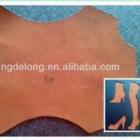 New hot soft yangbuck pu leather for shoe