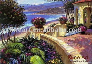 Hight quality products mediterranean landscape painting